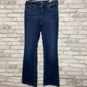Women's Silver Aiko Slim Boot Cut